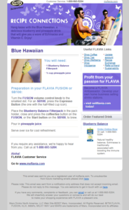 Blue Hawaii e-mail